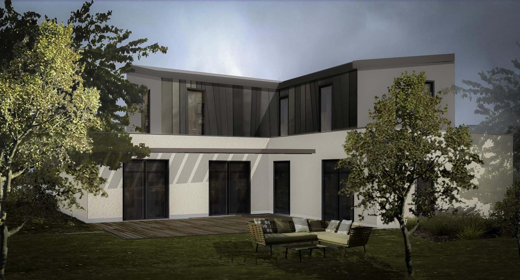Construction d'une maison neuve près d'Angers