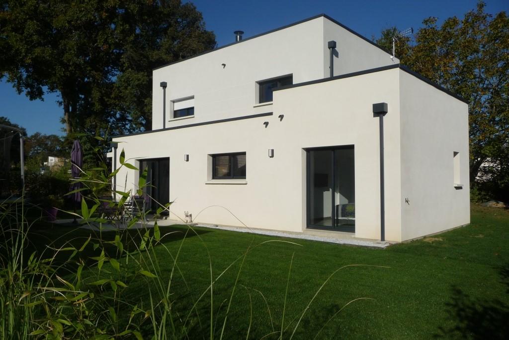 Construction de maison individuelle dans un lotissement